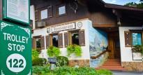 Trolley Stop at Bavarian Inn Lodge